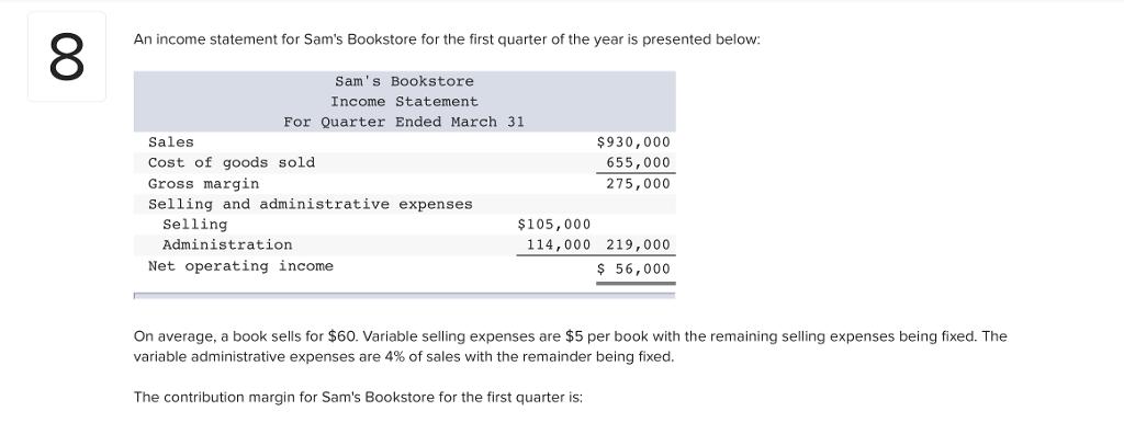 gross margin vs contribution margin