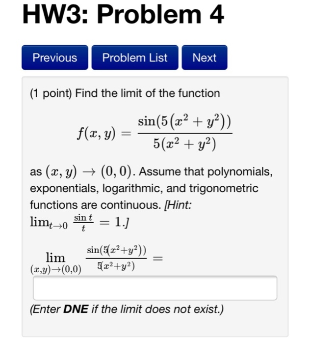 how to find the limit of a function