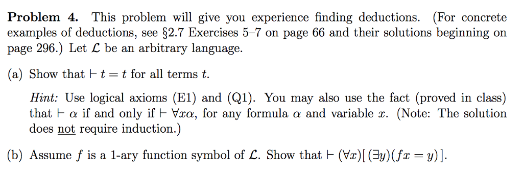 Problem 4 This Problem Will Give You Experience F Chegg