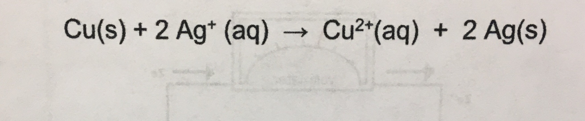 Solved 1write the cell diagram for this reaction 2writ question 1write the cell diagram for this reaction 2write half reactions and balanced redox reaction f ccuart Image collections