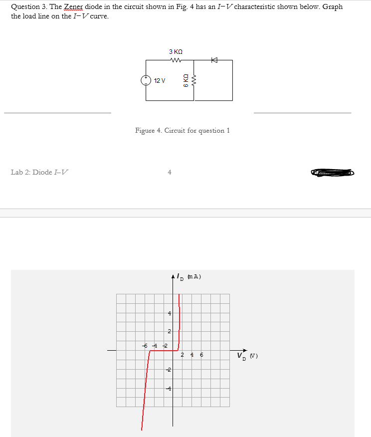 solved  question 3  the zener diode in the circuit shown i