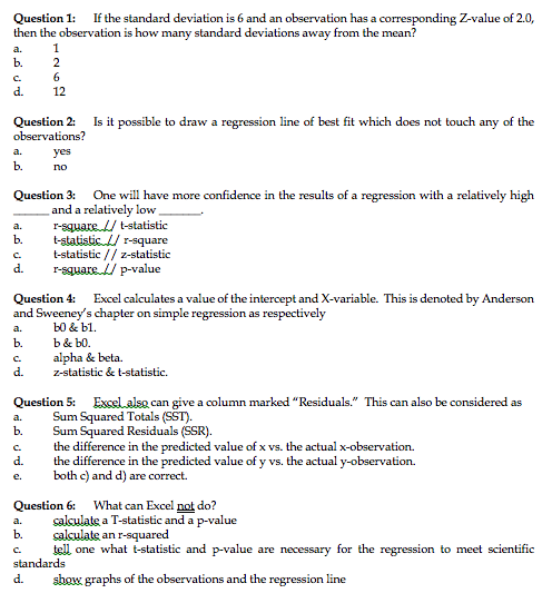 If the standard deviation is 6 and an observation chegg question 1 if the standard deviation is 6 and an observation has a corresponding z ccuart Image collections