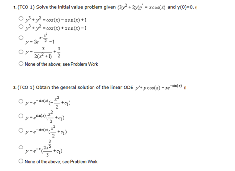 Solve the initial value problem given (3y2 + 2y)y'