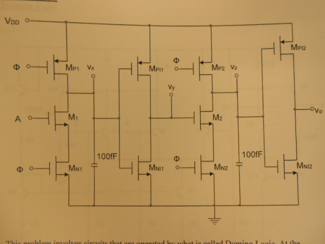 This problem involves circuits that are operated