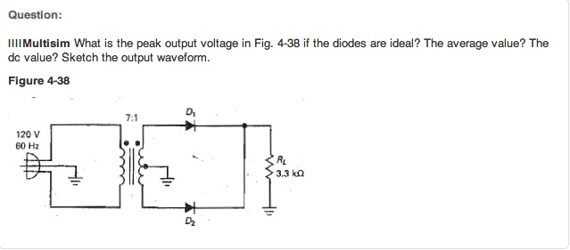 Multisim What is the peak output voltage in Fig. 4