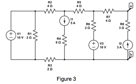 Find the Norton equivalent of the circuit shown i
