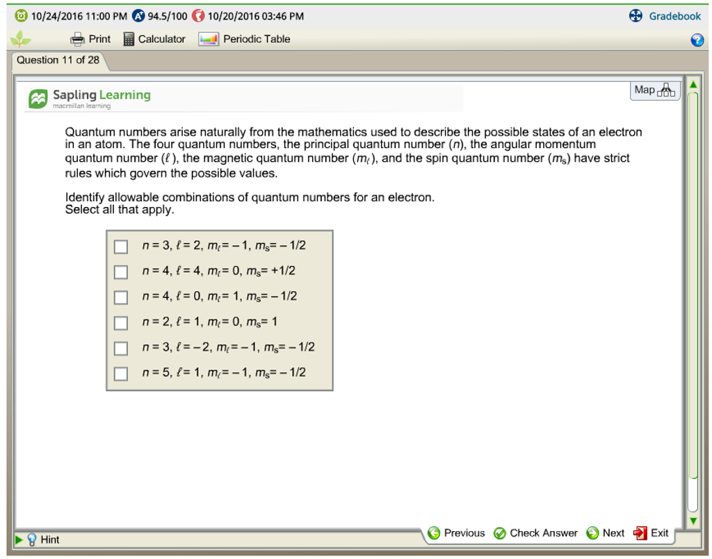 Quantum numbers arise naturally from the mathemati chegg expert answer gamestrikefo Images