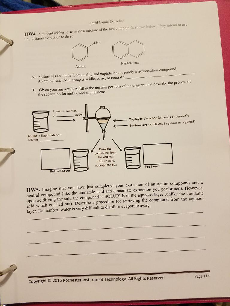 liquid liquid extraction