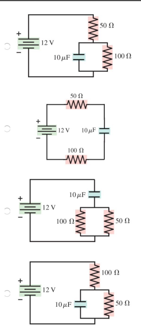 Solved choose the correct diagram for the circuit diagram chose the correct diagram pooptronica Choice Image