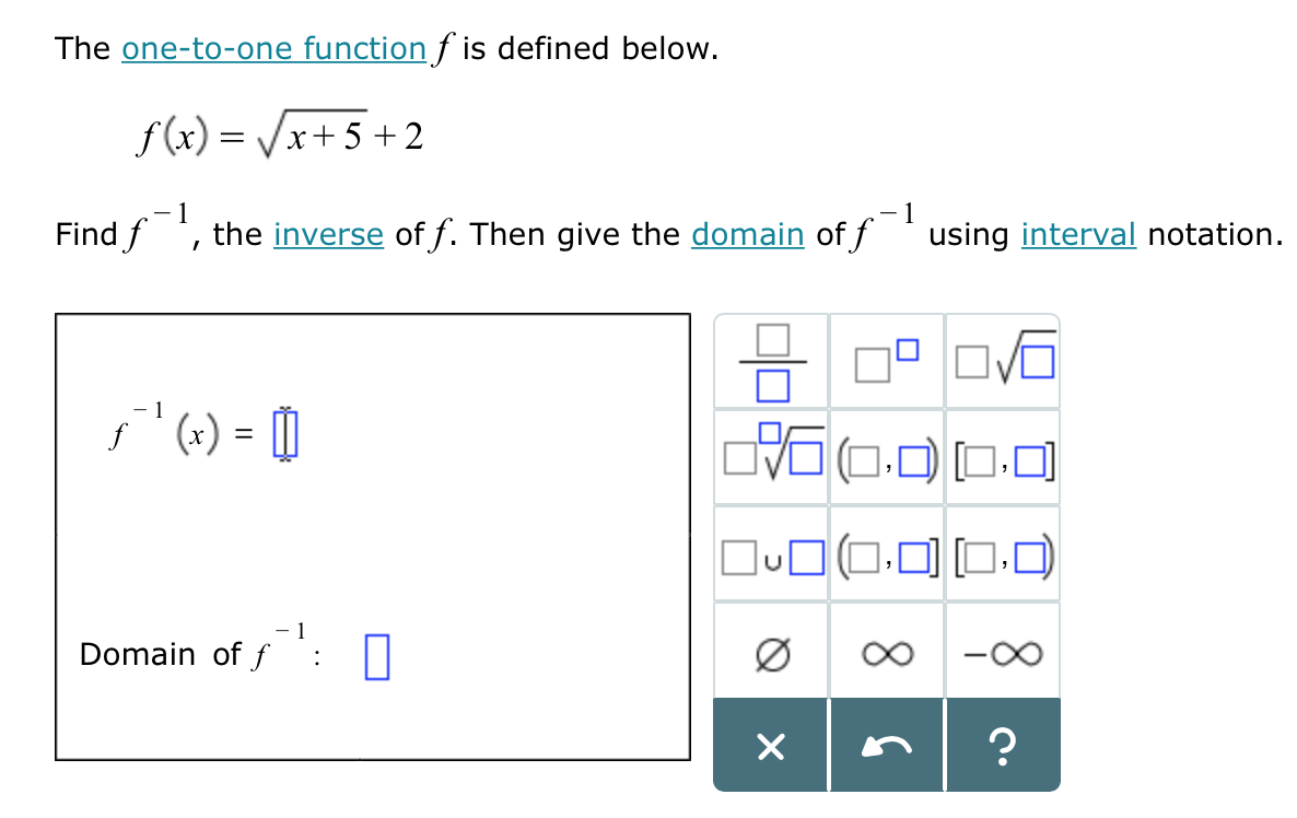 how to find x in a function