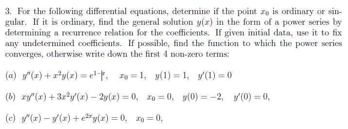how to find singular solution of a differential equation