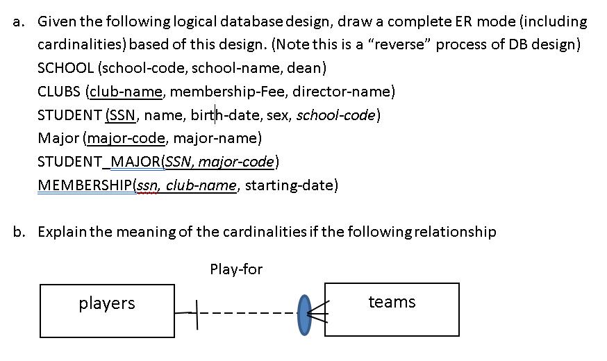student database design