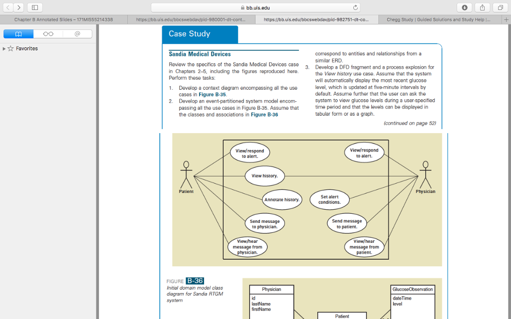Solved 1 develop a context diagram encompassing all the chapter b annotated slides favorites mis552 14338 bbuis https ccuart Gallery