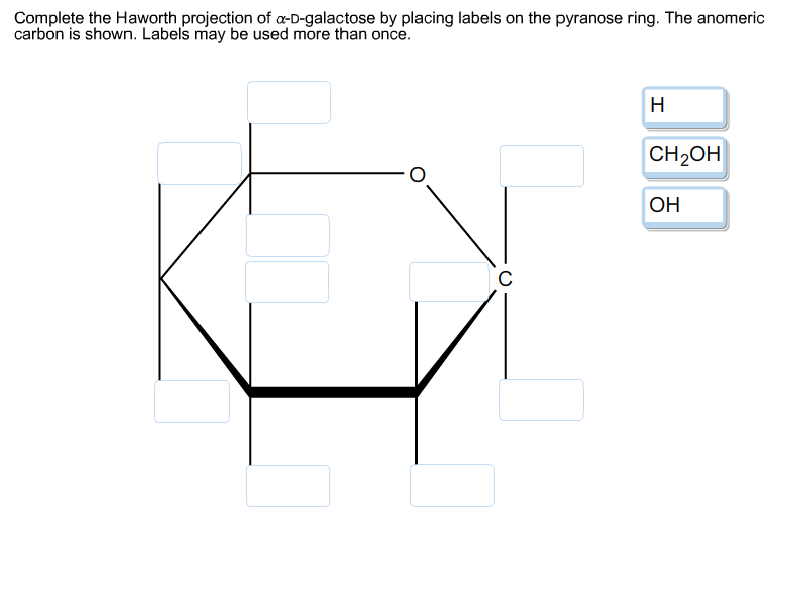 D Galactose Fischer Solved: Complete The H...