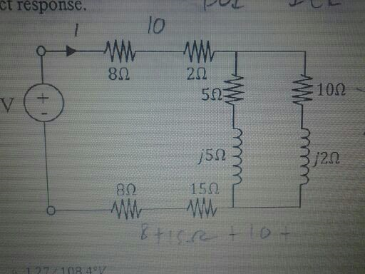 does the voltage lead the current? does the curre