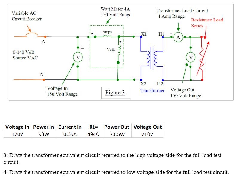 Solved: Variable AC Circuit Breaker Watt Meter 4A 150 Volt ...