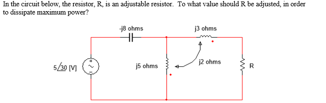In the circuit below, the resistor R, is an adjust