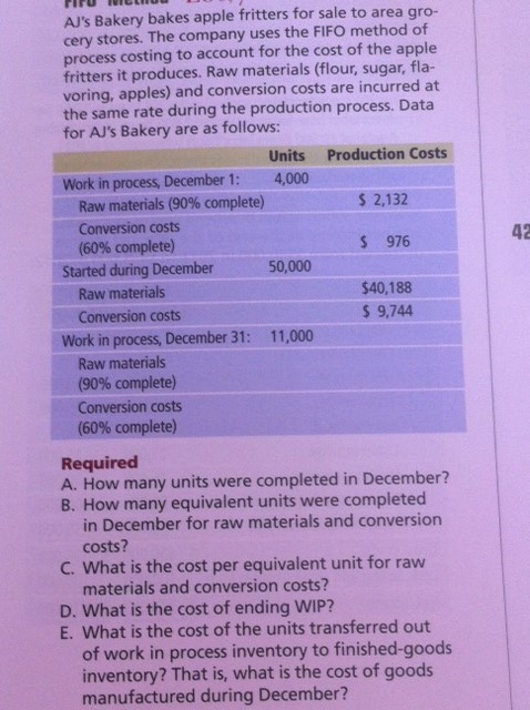 how many work in process wip accounts are maintained in a company that uses process costing Answer a work-in-process account is maintained for each separate processing department 4-5 assume that a company has two processing departments—mixing followed by firing prepare a journal entry to show a transfer of work in process from the mixing department to the firing department.