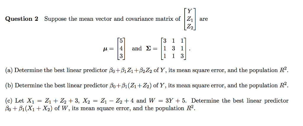 how to get covariance matrix