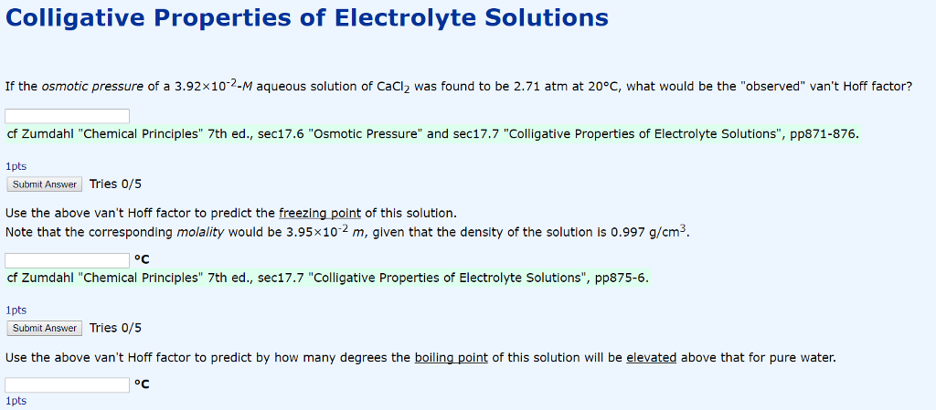 colligative properties questions and answers pdf