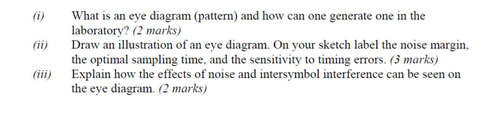 Solved i what is an eye diagram pattern and how can one i what is an eye diagram pattern and how can one generate one in ccuart Choice Image