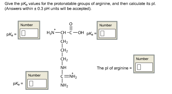 how to find ph given pka