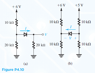 For the circuits in Fig. P4.10, utilize Thevenin's