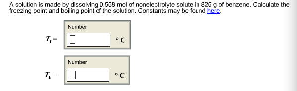 A solution is made by dissolving 0.558 mol of non