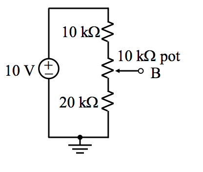 Determine the upper and lower resistor's values if