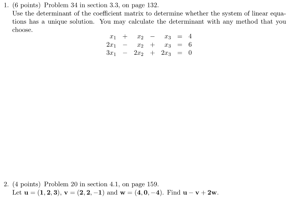 Solved: 1. (6 Points) Problem 34 In Section 3.3, On Page 1 ...