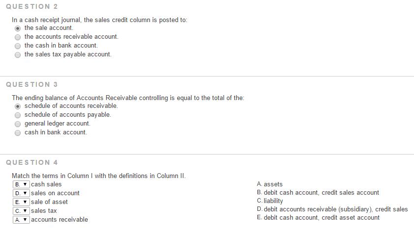 In A Cash Receipt Journal The Sales Credit Column – Receipt Ledger