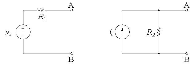 For the following two circuits to be equivalent, w