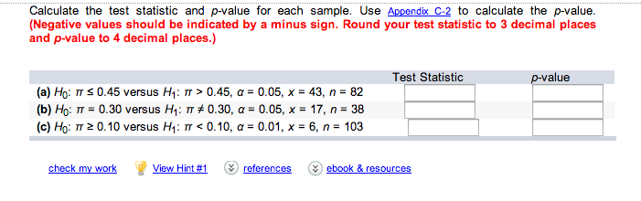 how to get p value from t test statistic