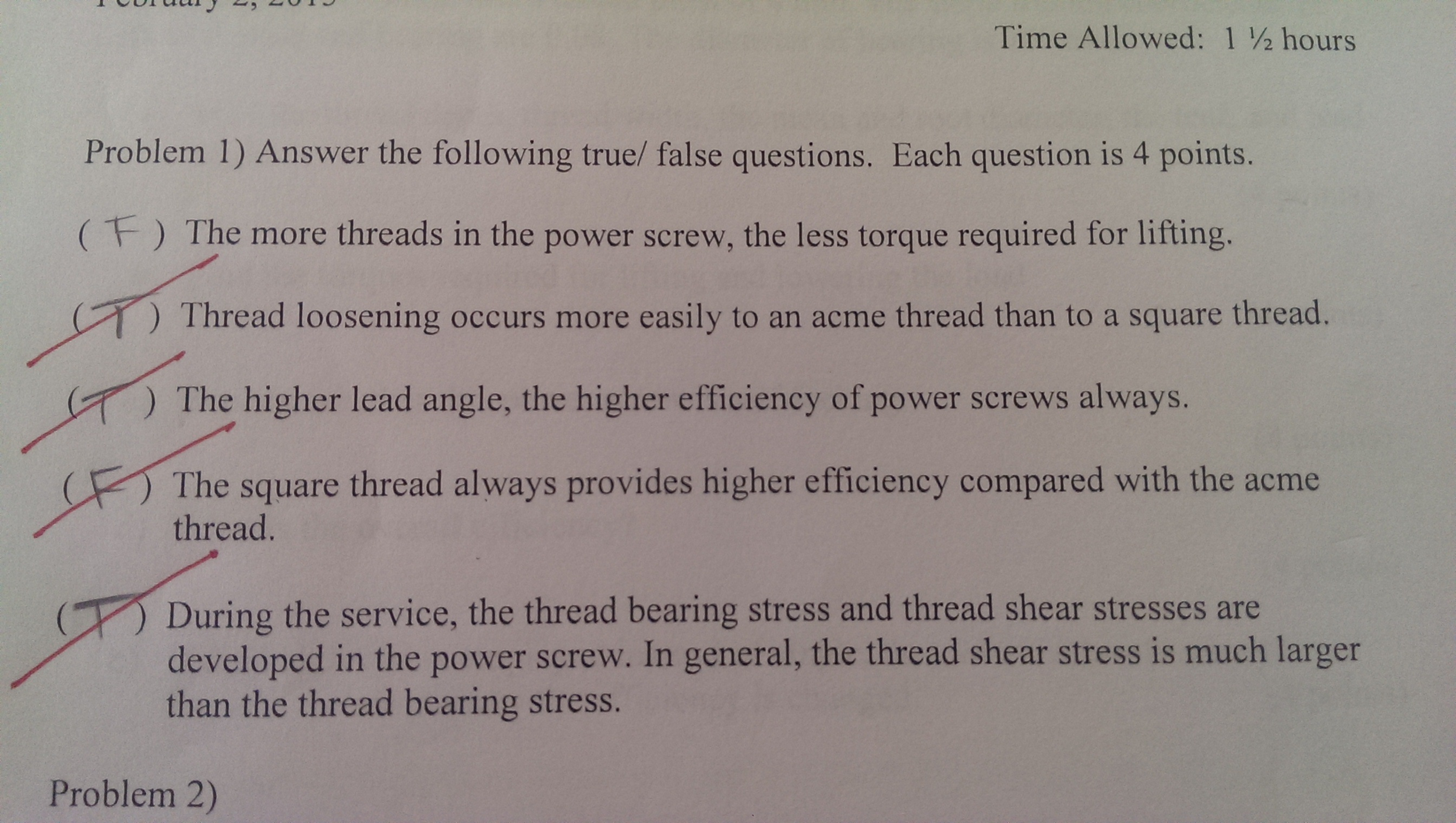 Solved  Answer The Following True  False Questions And Prov