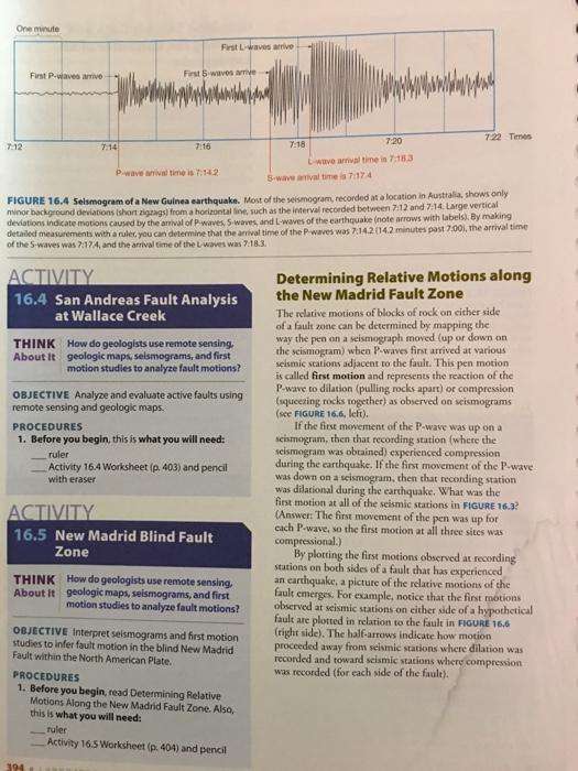 162 How Seismic Waves Travel Through Earth ACTIVI – Seismic Waves Worksheet