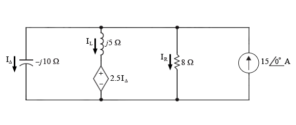 The circuit from a previous part has been transfor
