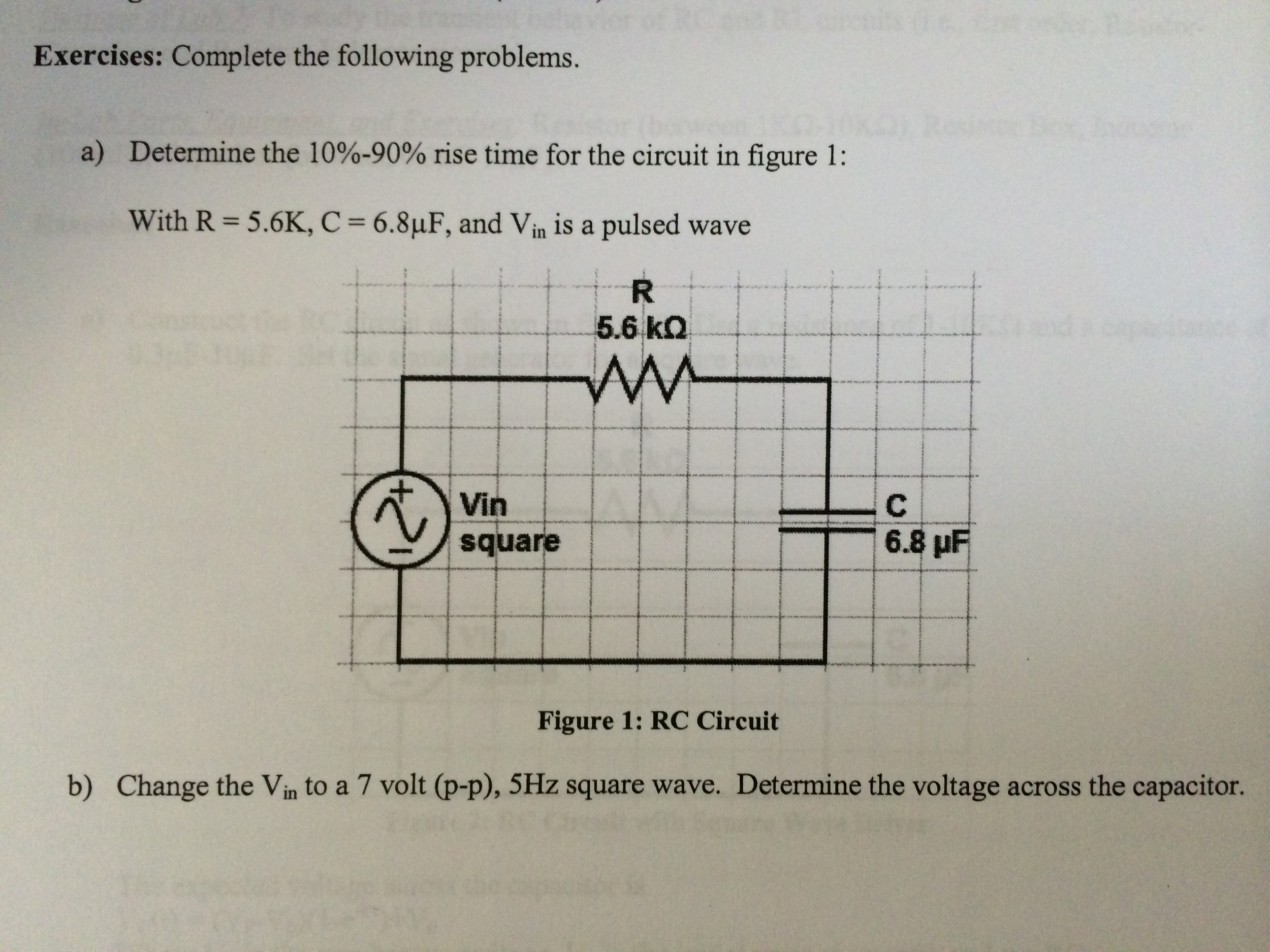 Complete the following problems. Determine the 10