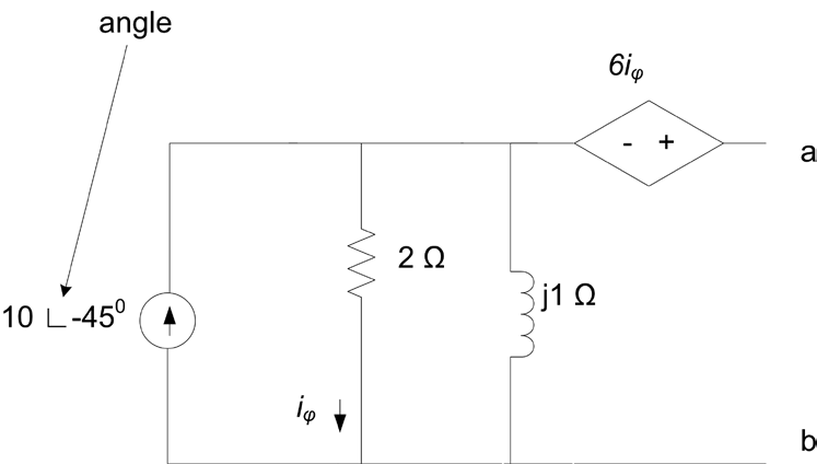 Find the Norton equivalent circuit with resp