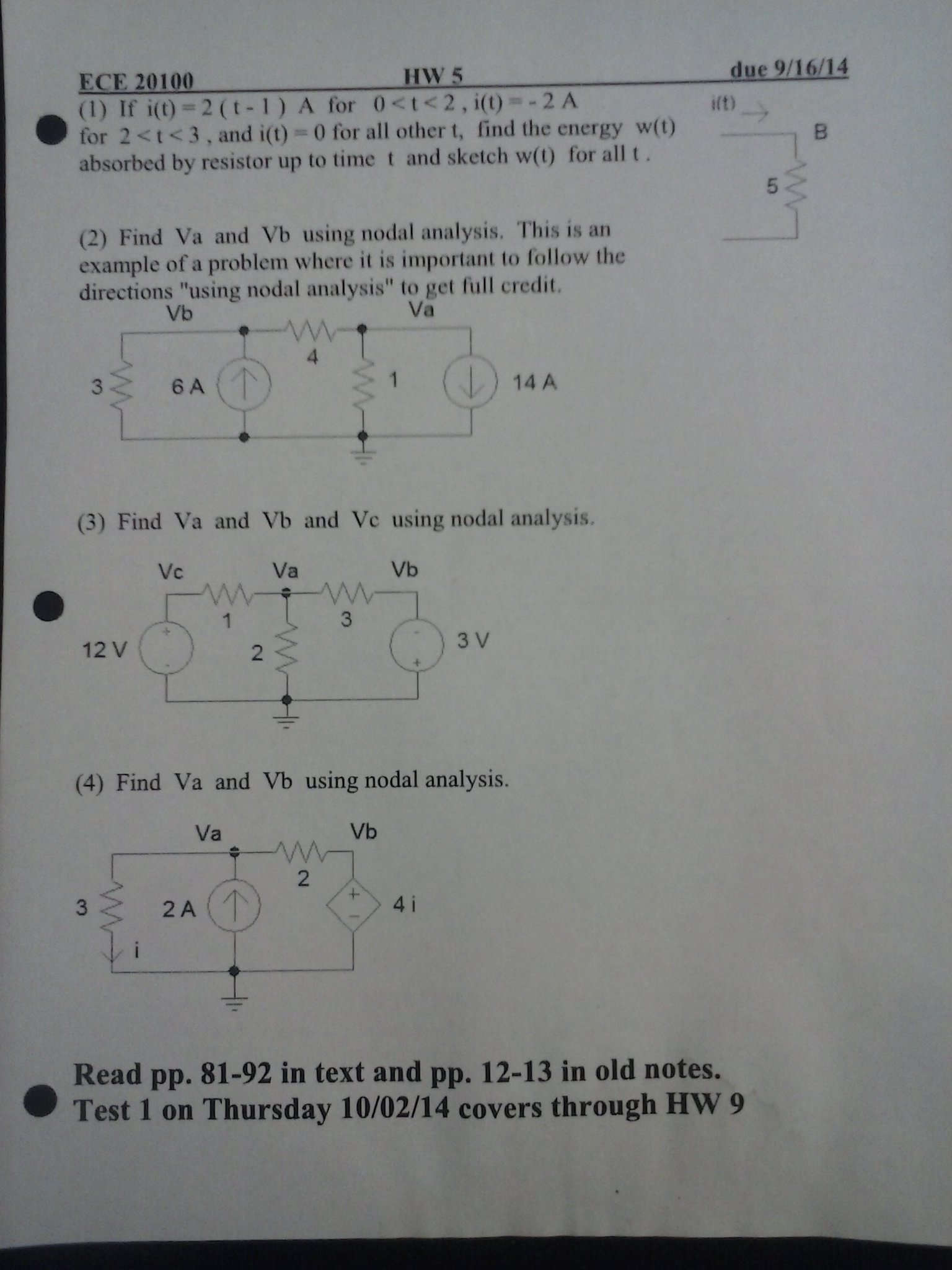 Need help with my homework questions