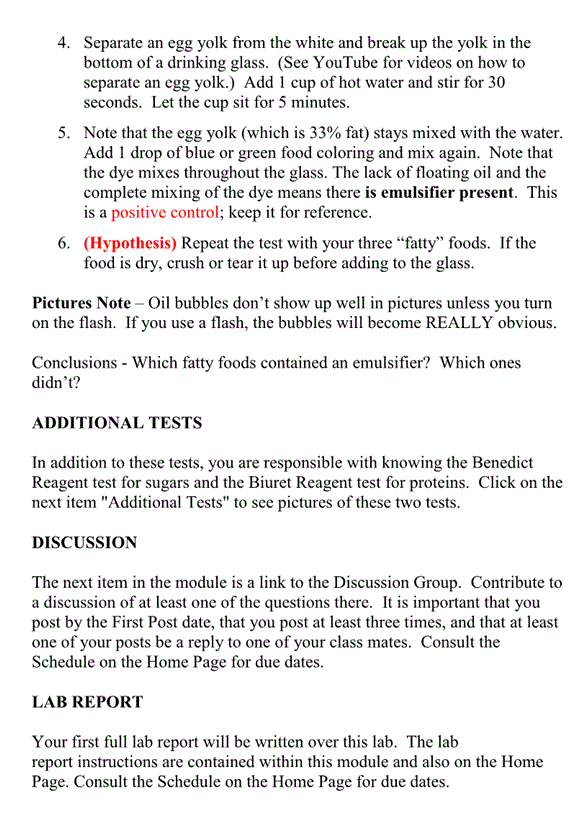 lab report hypothesis Doyle online writing lab site navigation example of a well-written lab report the null hypothesis that dorsal color pattern does not significantly affect.