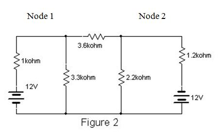Redraw the circuit shown in Figure 2, converting t