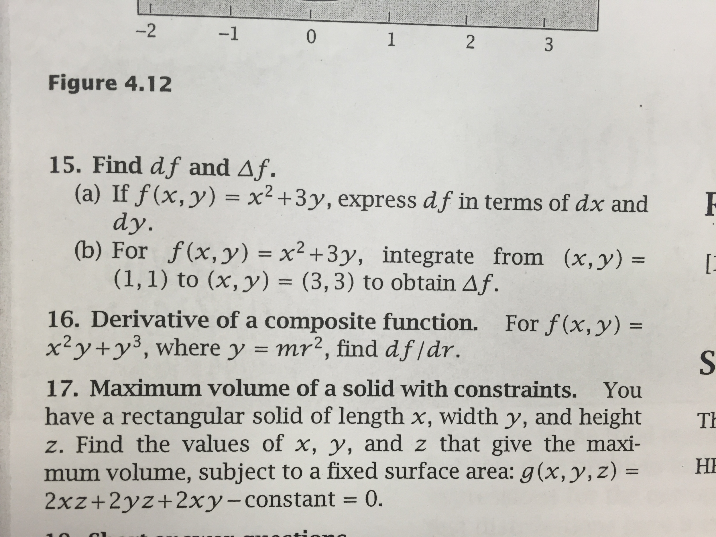How To Teach Surface Area Like A Rock Star Question: Find Df And Delta F  If F(x, Y) = X