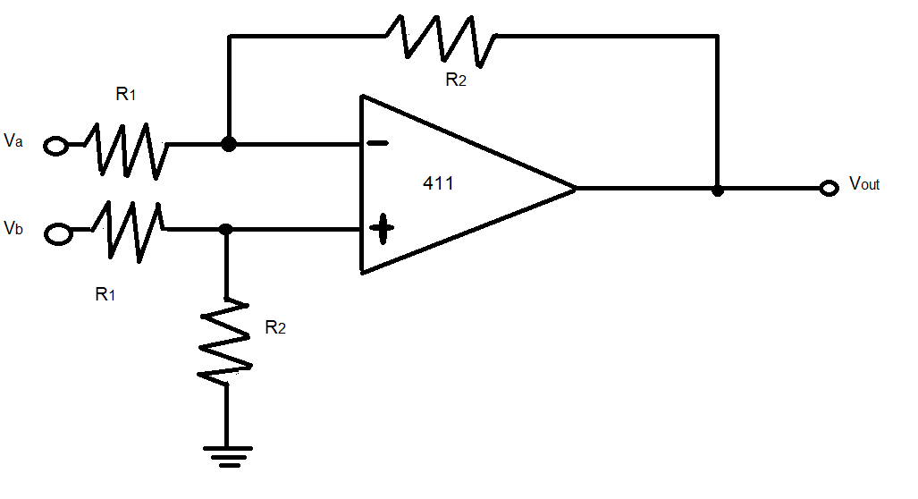 In the op amp comparator circuit shown, show that