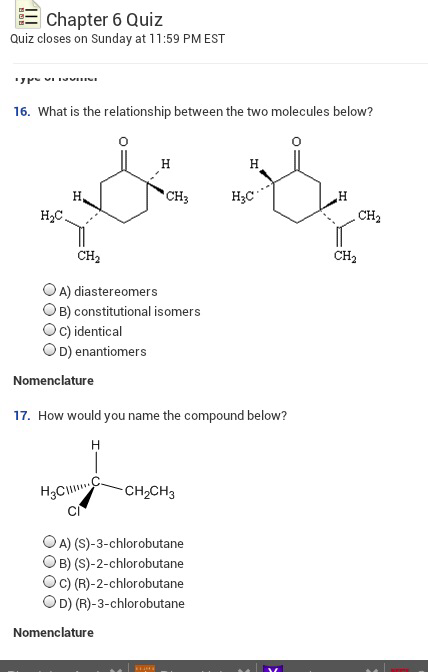 R 2 Chlorobutane Solved: Do The Two Mol...