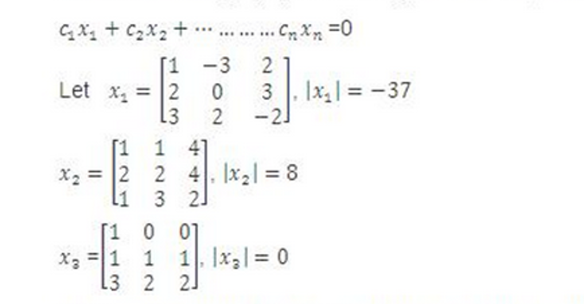 linear algebra help please show all work and stat com