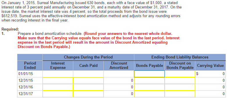 solved  1  prepare bond amortization schedule  2 record jo