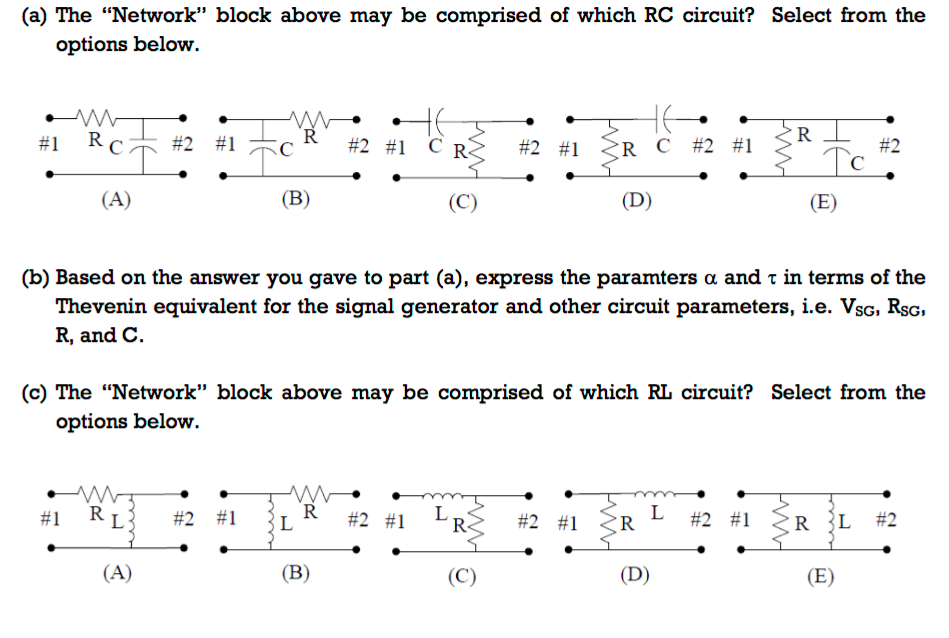 Solved: 5. In The Circuit Below, We Connect The Thevenin E ...