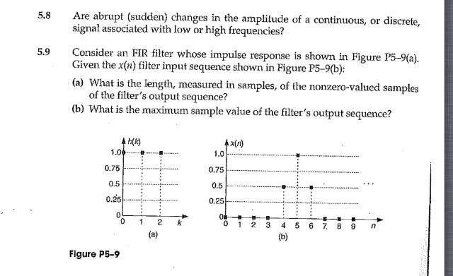 Are abrupt (sudden) changes in the amplitude of a