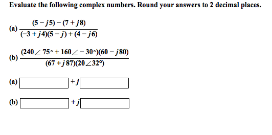 complex numbers questions and answers pdf