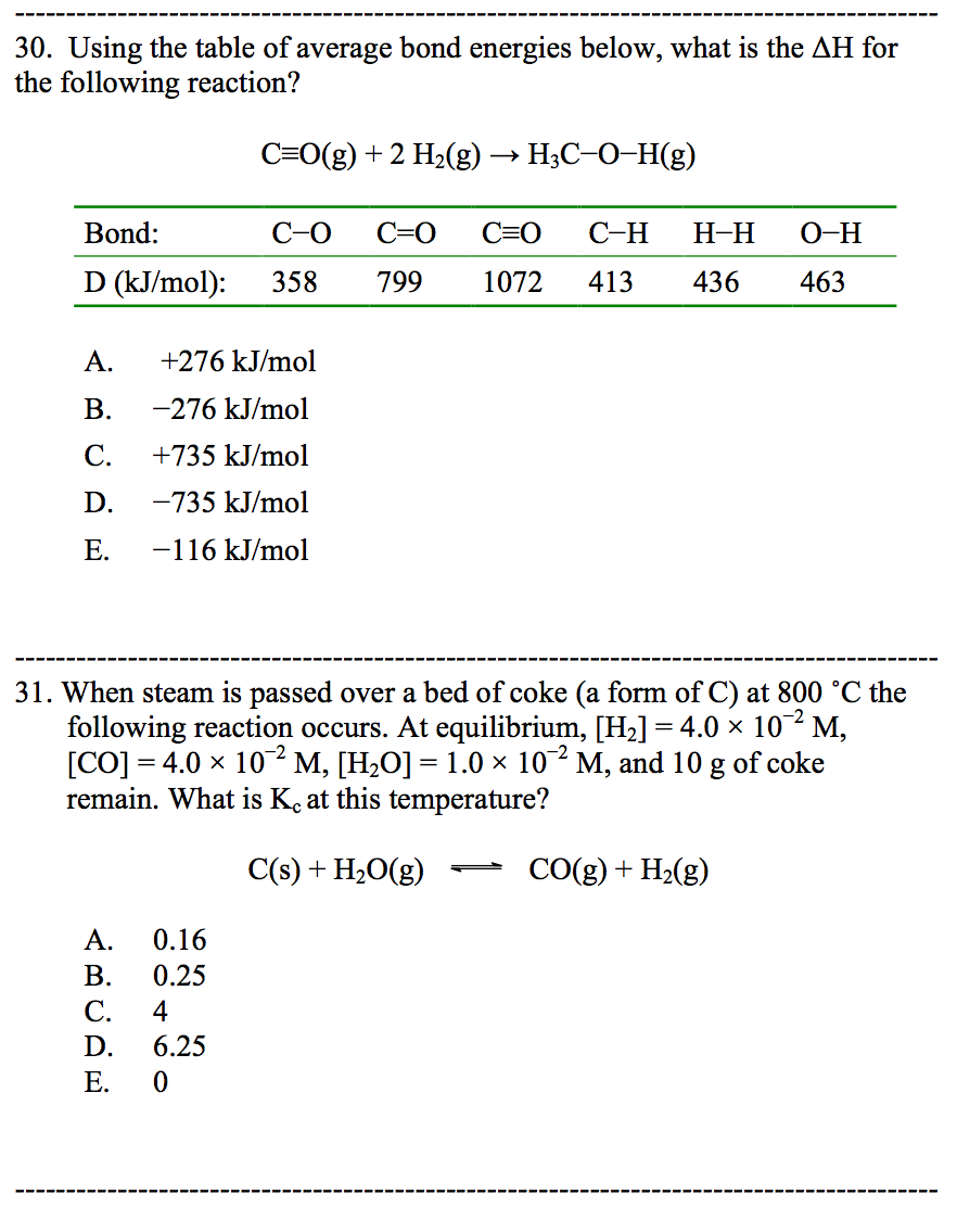 Please help me solve the following questions below for Delta s table chemistry
